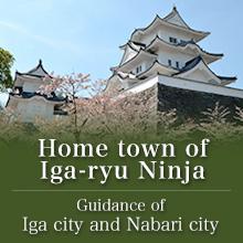 Home town of Iga-ryu Ninja